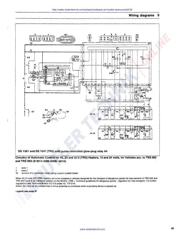 Magnificent Webasto Airtop 3500 Wiring Diagram Somurich Com Wiring Digital Resources Counpmognl