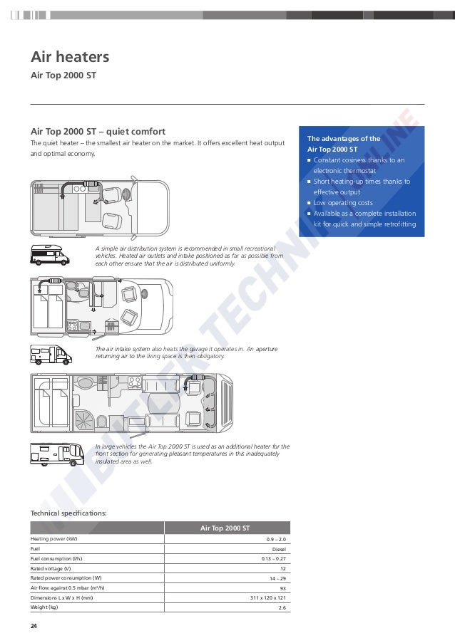 webasto air top 2000 st installation manual
