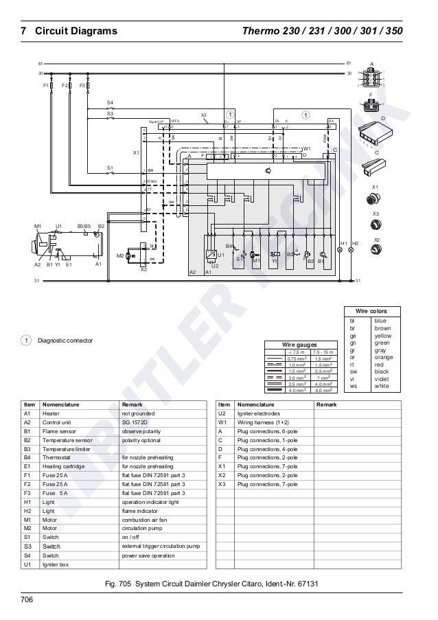 Webasto Water Heater Wiring Diagram - Collection