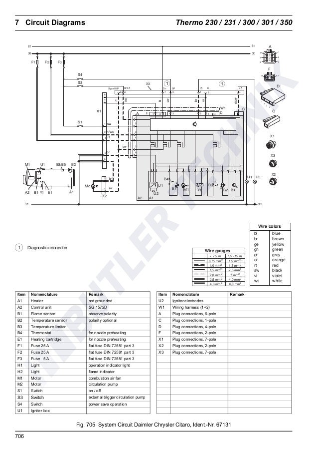 webasto heater wiring diagram webasto thermo 230 300 350 workshop manual  webasto thermo 230 300 350 workshop manual
