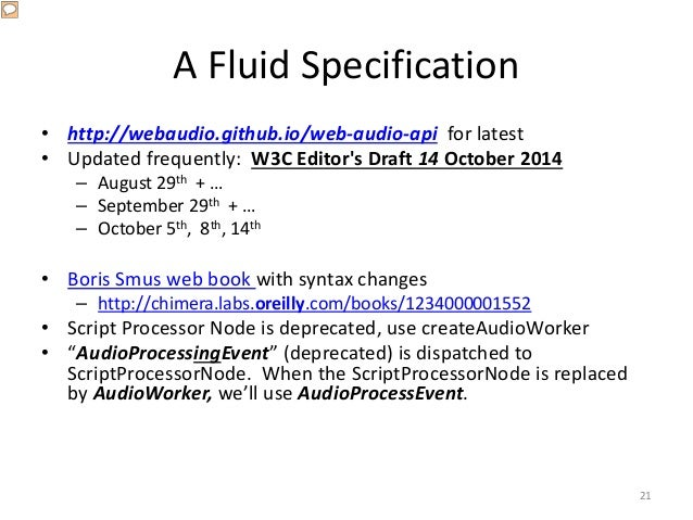 A (Mis-) Guided Tour of the Web Audio API