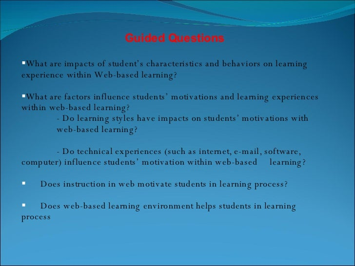 introduction of factors affecting learning