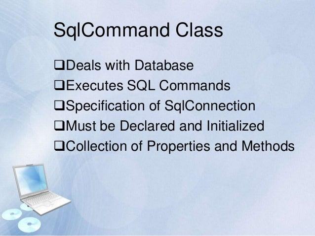Web based database application design using vb net and sql