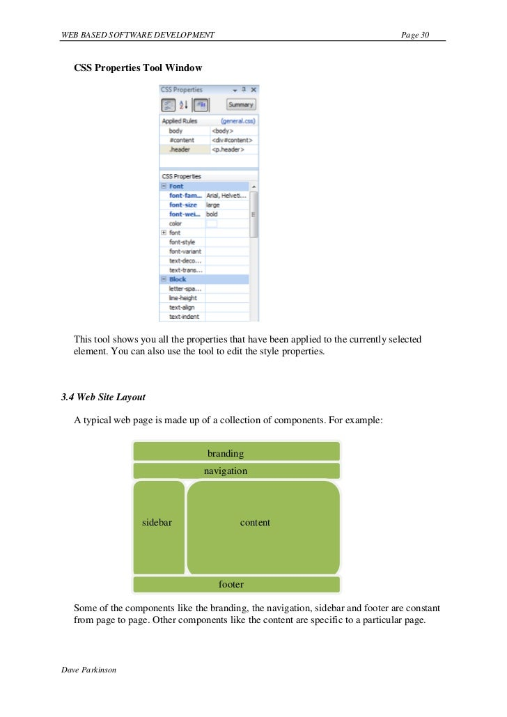 Web-Based Software