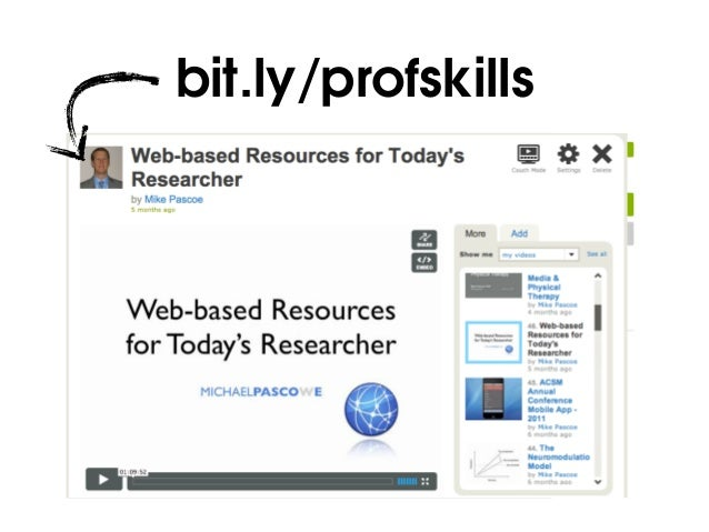 Web-based Tools for Today's Researcher | October 2014 Slide 2