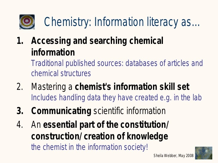 What Does Information Literacy Mean Some Examples From Different Dis
