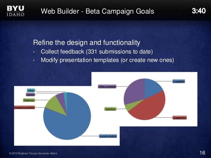 byu-idaho web builder orientation, University Of Idaho Presentation Template, Presentation templates