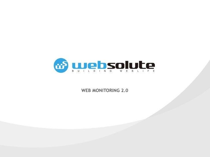 WEB MONITORING 2.0