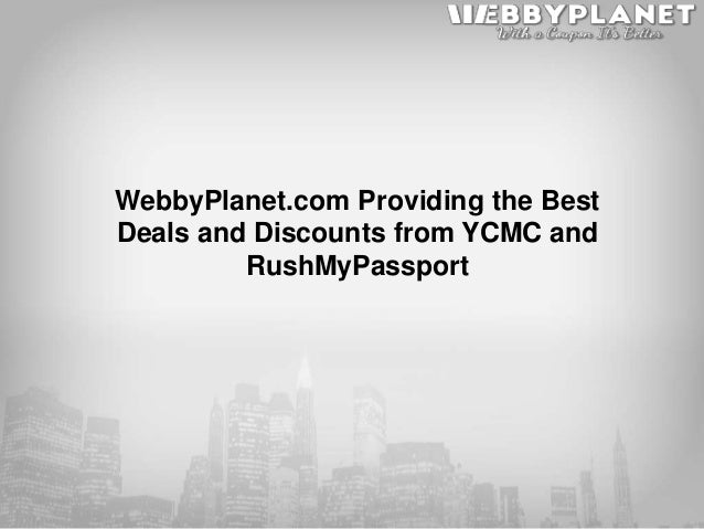 Webbyplanet Com Providing The Best Deals And Discounts From Ycmc And