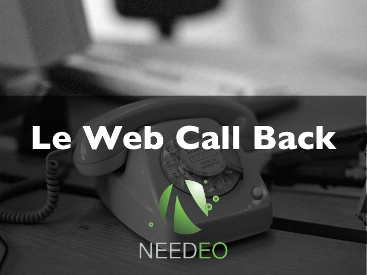 Le Web Call Back