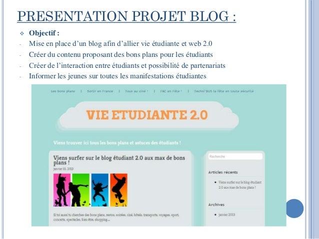 Web campus; Vie étudiante2.0 Slide 2
