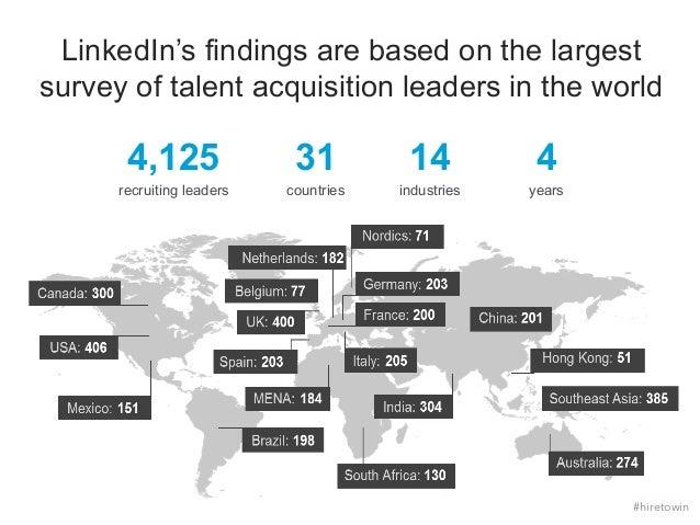 2015 Global Recruiting Trends   Webcast Slide 2