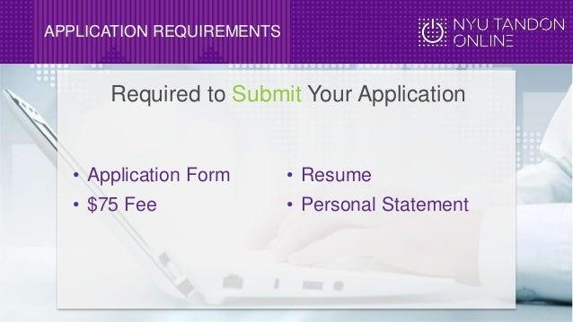 nyu application essay requirements