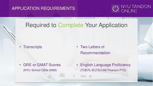 Nyu Graduate Programs Recommendation Letters