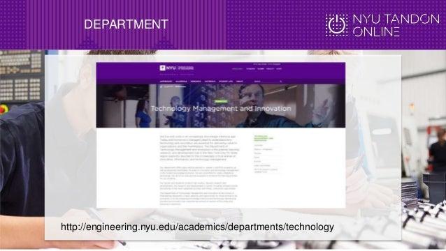 Online MS in Industrial Engineering at NYU
