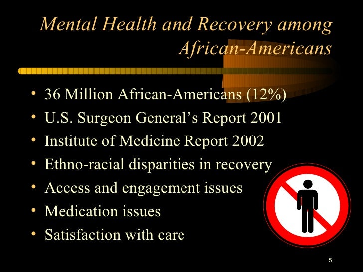 African Americans And Mental Illness