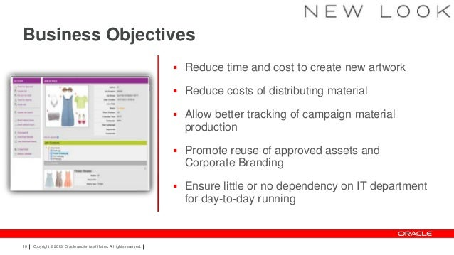 hire dynamics webcenter Oracle WebCenter In Action - NewLook MediaStore Case Study