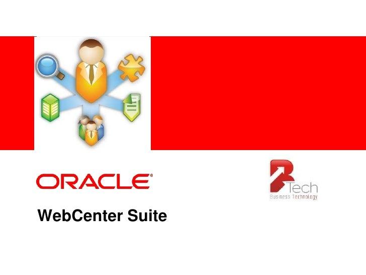 WebCenter Suite<br />
