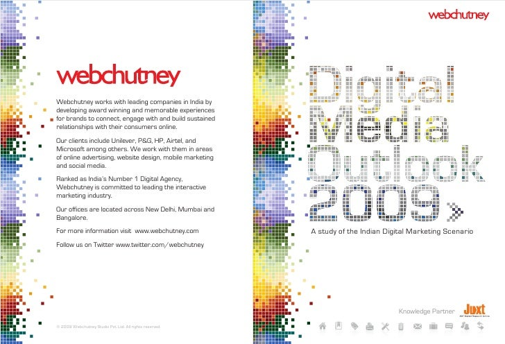 Webchutney works with leading companies in India by developing award winning and memorable experiences for brands to conne...