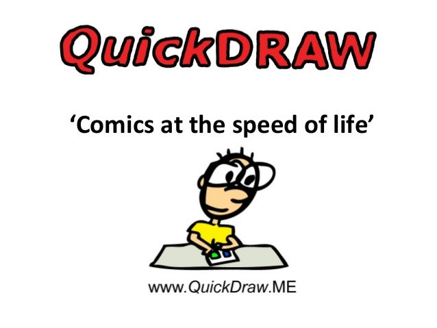 'Comics at the speed of life'