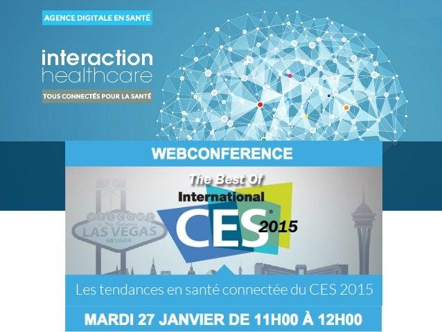LES INTERVENANTS DE LA WEBCONFERENCE
