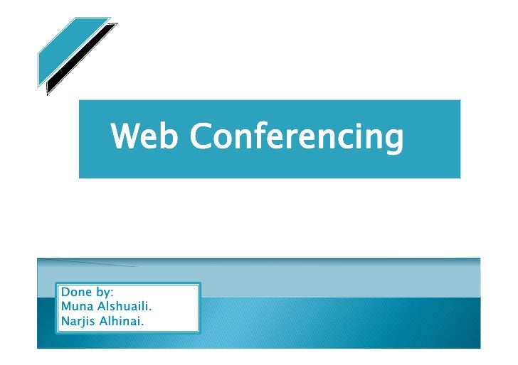 when was web conferencing invented