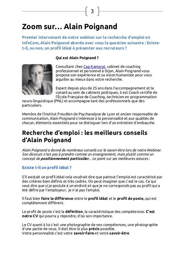 Webconf rence emploi de - Entretien cabinet de recrutement questions ...