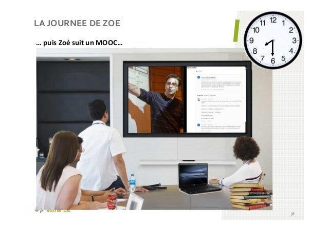 LA JOURNEE DE ZOE 38 … puis Zoé suit un MOOC…