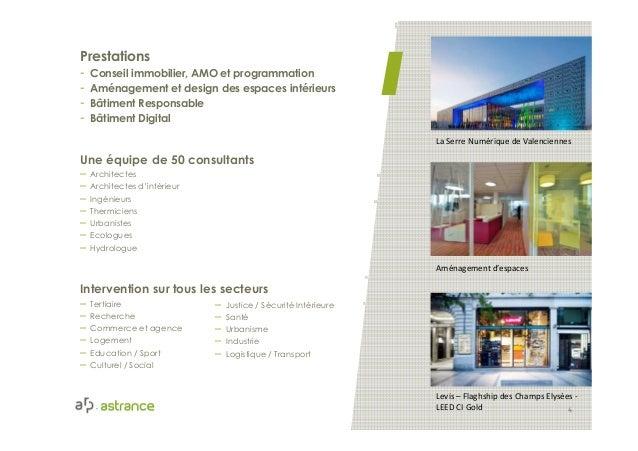 La Serre Numérique de Valenciennes Aménagement d'espaces Levis – Flaghship des Champs Elysées - LEED CI Gold 4 ArchitecteW...