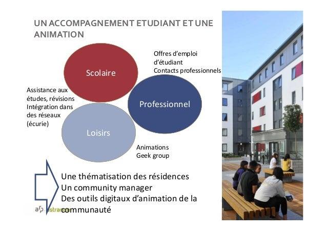UN ACCOMPAGNEMENT ETUDIANT ET UNE ANIMATION 46 Scolaire Professionnel Loisirs Assistance aux études, révisions Intégration...