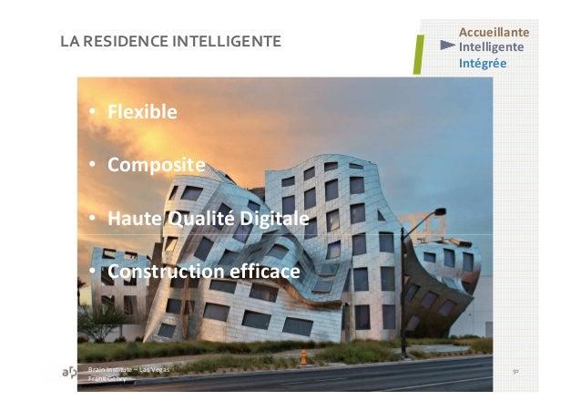 LA RESIDENCE INTELLIGENTE 50 • Flexible • Composite • Haute Qualité Digitale • Construction efficace Brain Institute – Las...