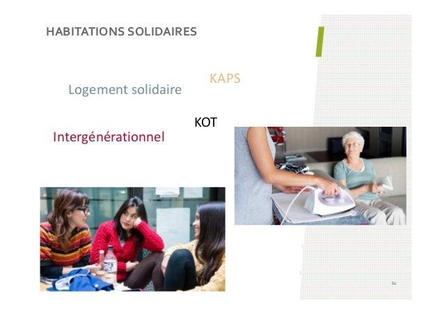 HABITATIONS SOLIDAIRES 60 Logement solidaire Intergénérationnel KAPS KOT