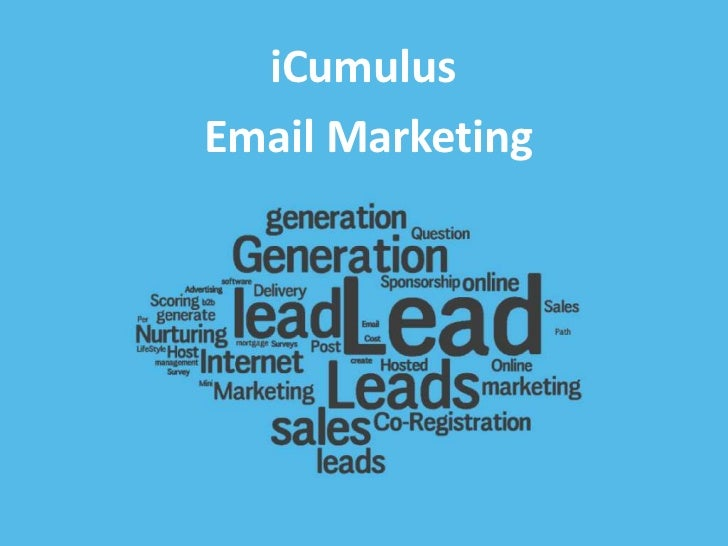 iCumulusEmail Marketing