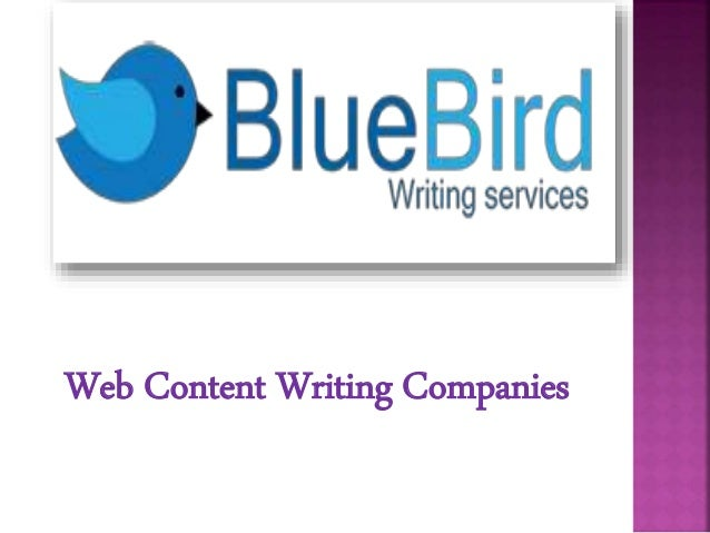 Website content writing companies