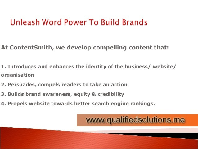 Content writing services dubai