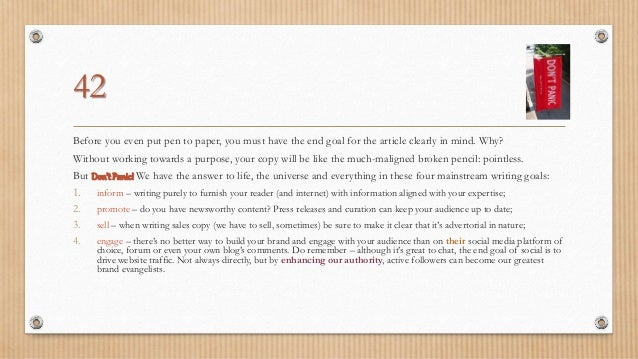Semantic copywriting guidelines and best practices Slide 3