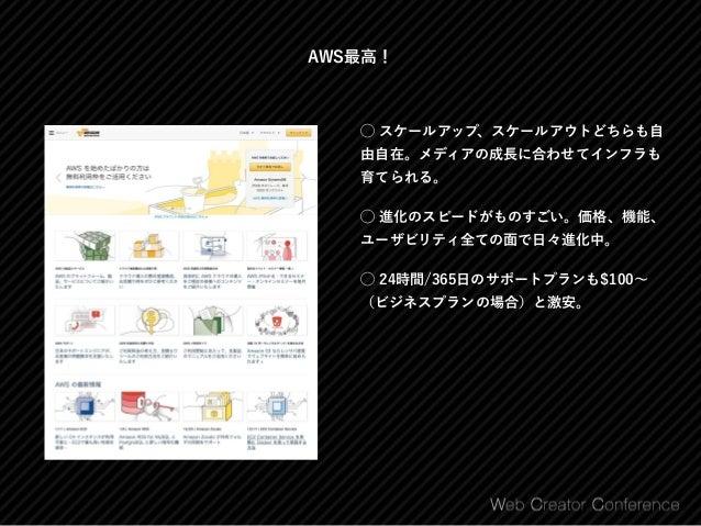 アプリケーションフレームワークで開発されたメディアの例 NewsPicks https://newspicks.com/ AngularJS + ? nanapi [ナナピ] http://nanapi.jp/ PHP + CakePHP ...