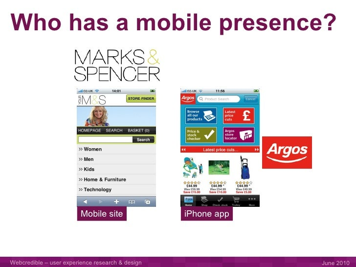 The Mobile Advantage - use the unique capabilities of mobile devices to differentiate your e-commerce proposition Slide 3