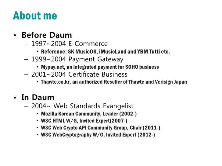 The History and Status of Web Crypto API (2012) Slide 2