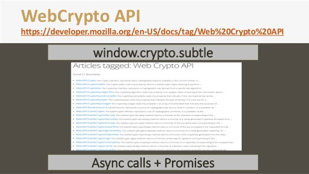 Web Crypto API with IE11 (AES-GCM)
