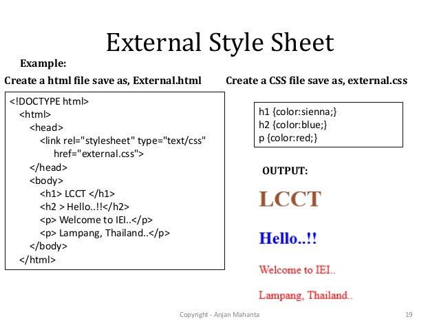 Beginner's guide to web design css basics.