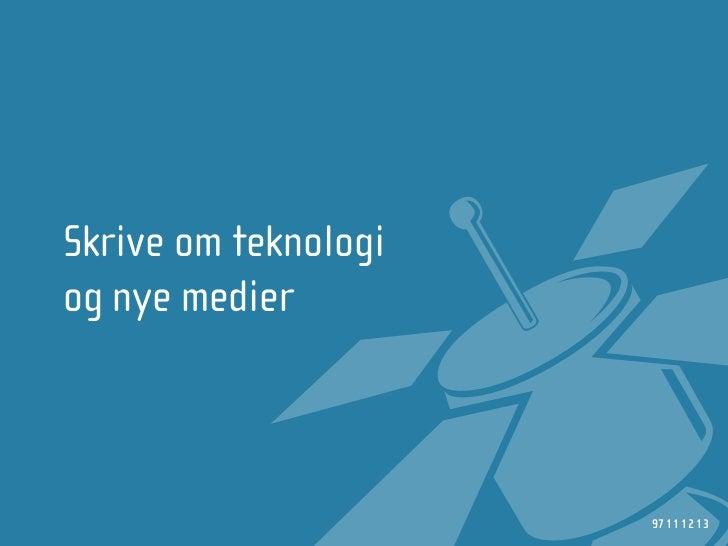 NRKbeta - Webdagene 2008 Slide 3