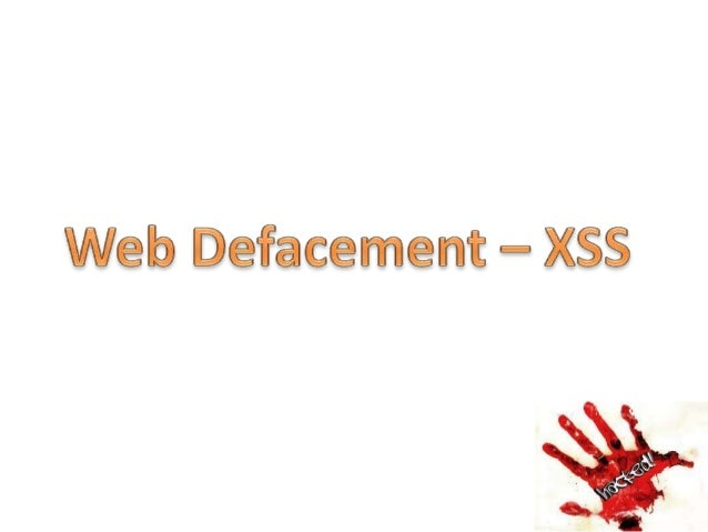 Introduction • Website defacement is an attack on a website that changes the visual appearance of the site or a webpage. D...