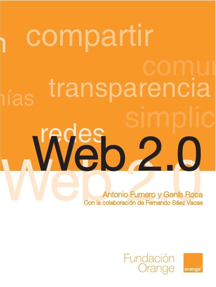 n compartir              comunmías   transparencia       redes             simplic   Web 2.0 Web 2.0        Antonio Fumero...