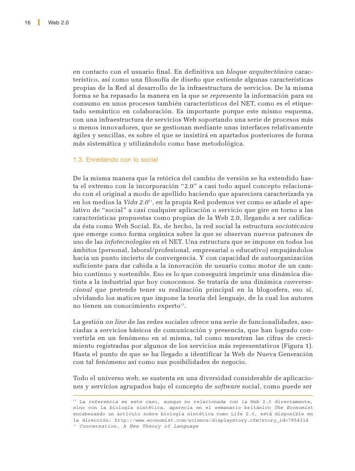 Web 2.0   17     Figura 1. Crecimiento de MySpace y Facebook en el mercado anglonorteamericano. En usuarios unicos        ...
