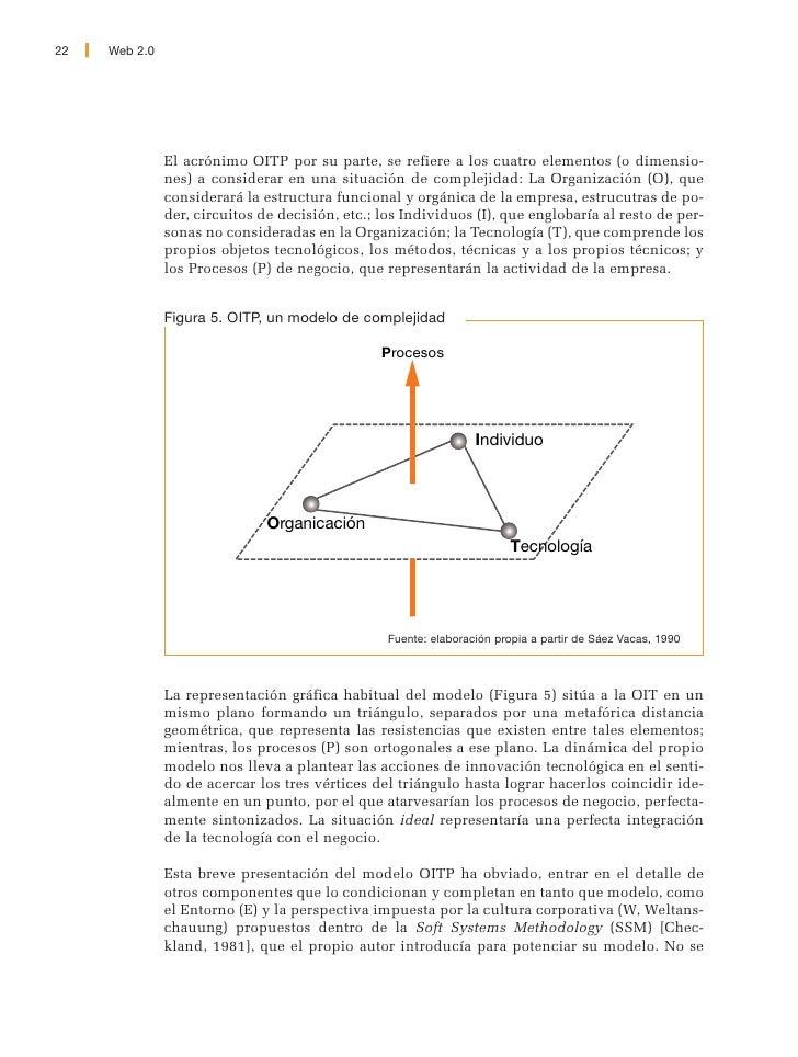 Web 2.0   23     van a profundizar tampoco en el modelo de los tres niveles de complejidad que se puede encontrar detallad...
