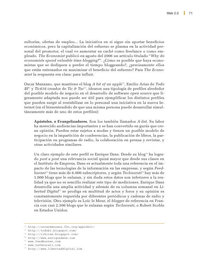 Web 2.0 - Aspectos Sociales