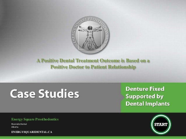 A Positive Dental Treatment Outcome is Based on a                         Positive Doctor to Patient RelationshipEnergy Sq...