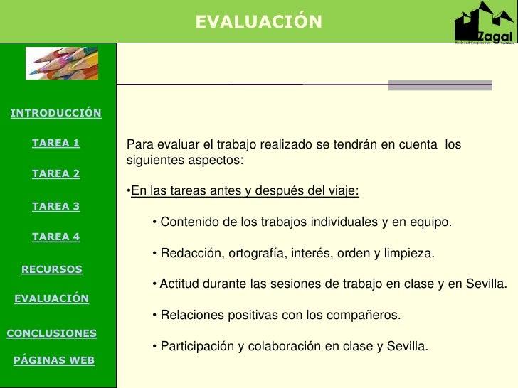 EVALUACIÓNINTRODUCCIÓN   TAREA 1    TAREA        Para evaluar el trabajo realizado se tendrán en cuenta los               ...