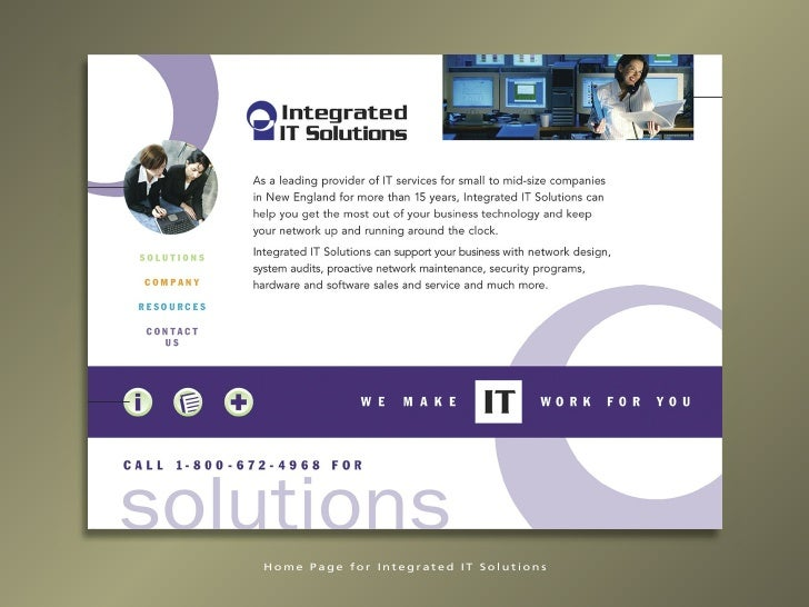 Home Page for Integrated IT Solutions